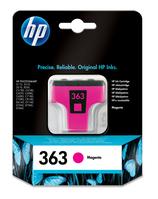 HP 363 inktcartridge 1 stuk(s) Origineel Normaal rendement Foto magenta