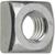 Produktbild zu DIN557/ 5 M10 verzinkt Vierkantmutter