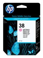 HP 38 inktcartridge 1 stuk(s) Origineel Normaal rendement Lichtmagenta
